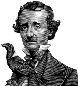 Edgar Allan Poe, as created by Mark Summers for Barnes & Noble (click for more if his work!)